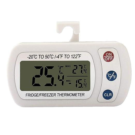 Termómetro digital para refrigerador, termómetro para frigorífico ...