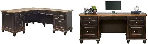 Martin Furniture Hartford L-Shaped Desk