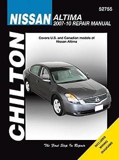 Nissan altima 2007 2012 repair manual haynes repair manual haynes nissan altima 2007 2010 chiltons total car care repair manual fandeluxe Images