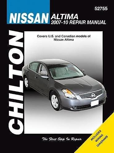 nissan altima 2007 2010 chilton s total car care repair manual rh amazon com nissan altima haynes repair manual for 2007 thru 2012 nissan altima haynes repair manual for 2007 thru 2012