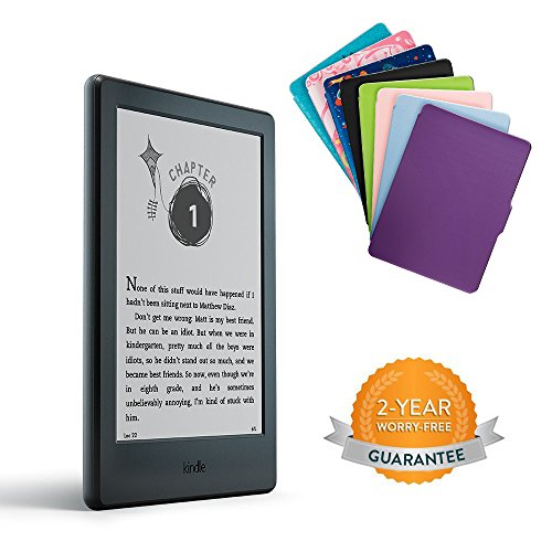 Amazon kindle for kids bundle with the latest kindle e reader amazon kindle for kids bundle with the latest kindle e reader 2 year worry free guarantee blue cover kindle store fandeluxe Choice Image
