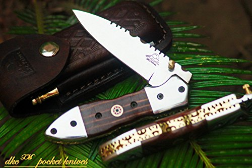 DKC-59-440c-DARTMOUTH-Stainless-Steel-440c-Folding-Pocket-Knife-45-Folded-75-Long-77oz-oz-High-Class-Looks-Incredible-Feels-Great-In-Your-Hand-And-Pocket-Hand-Made-DKC-Knives