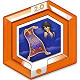 Disney Infinity 2.0 Disney Originals RARE Orange Power Disc - Aladdin's Magic Carpet