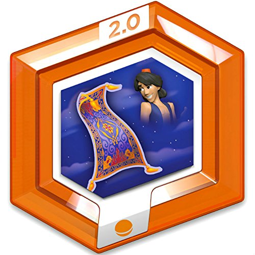 Price comparison product image Disney Infinity 2.0 Disney Originals RARE Orange Power Disc - Aladdin's Magic Carpet