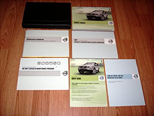 2011 volvo xc90 owners manual amazon com books rh amazon com 2014 Volvo XC90 2011 volvo xc90 repair manual