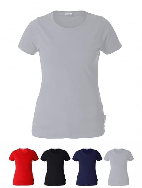KREXUS Damen Tailliertes T-Shirt 100% Baumwolle  Amazon.de  Bekleidung fefe97ac62