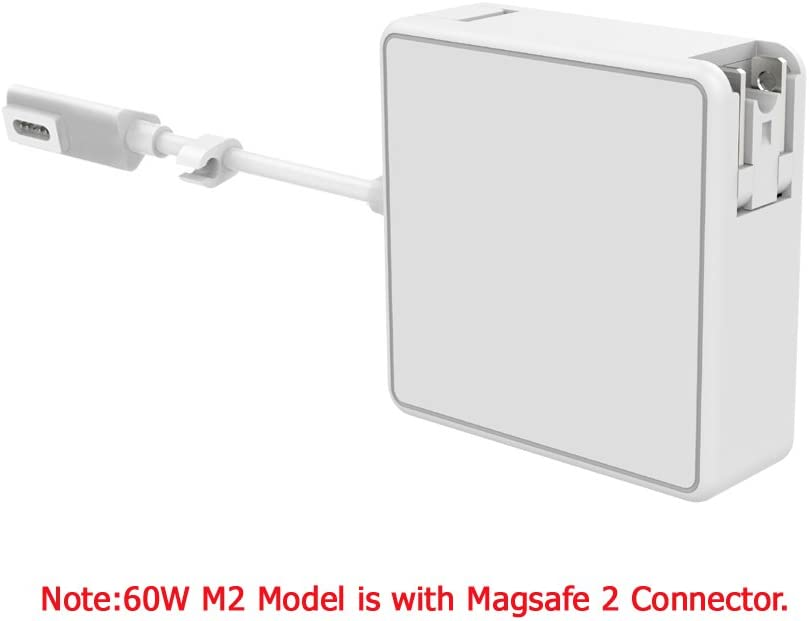 """Hello CC 60W Magnetic Laptop Power Charger AC Adapter for MacBook Pro 13"""" inch with Retina Display [End 2012 Models and Later]"""