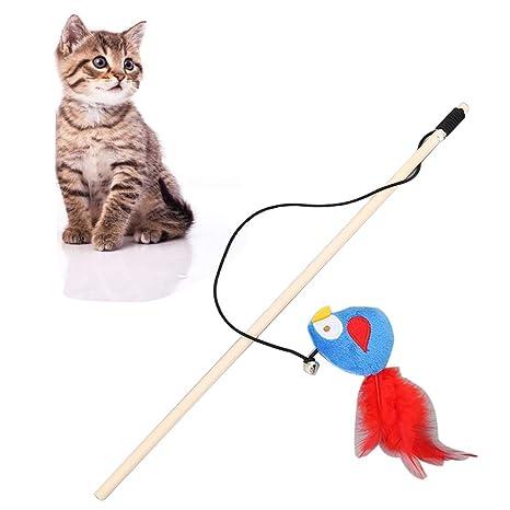 Feli546Bruce Juguete para Gatos, Juguete para Gatos, Color Brillante ...