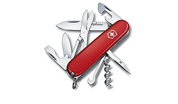 Victorinox navaja suiza Climber 14 funciones - Rojo ...