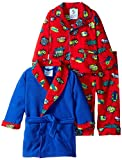 Baby Bunz Baby Boys' 3 Piece Pow Robe and Pajama Set