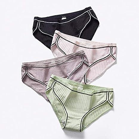 SZTB Bragas Mujer Bikini Culotte para algodón Tiras de algodón Transpirable para Mujeres La Ropa Interior de Bikini 3/4,01,2XL: Amazon.es: Deportes y aire libre
