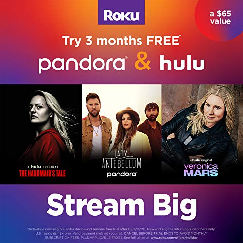 Roku Ultra | Streaming Media Player 4K/HD/HDR with Premium JBL Headphones 2019