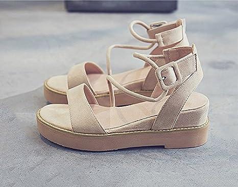Xing Lin Damen Sandalen Sandalen Neue Frauen Komfort Im Sommer Plattform Studierende Frauen Casual Sandalen Sandalen