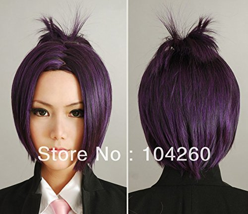 Price comparison product image Smile Japan Anime Hitman Reborn Chrome Dokuro Cosplay Wigs Full Lace