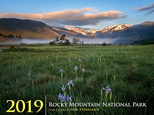 Wall Calendar - Images of Rocky Mountain National Park (2019) by Images of RMNP