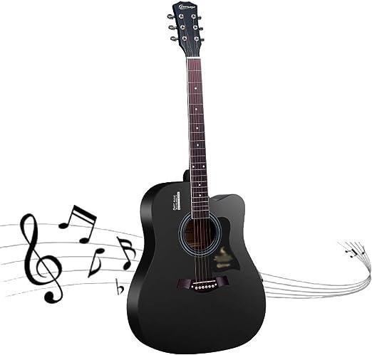 YJFENG-Guitarra Acústica,Principiante Entretenimiento Jugando ...