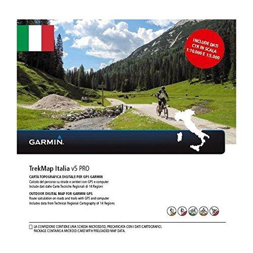 Accessorio GPS Garmin TrekMap Italia v5 PRO