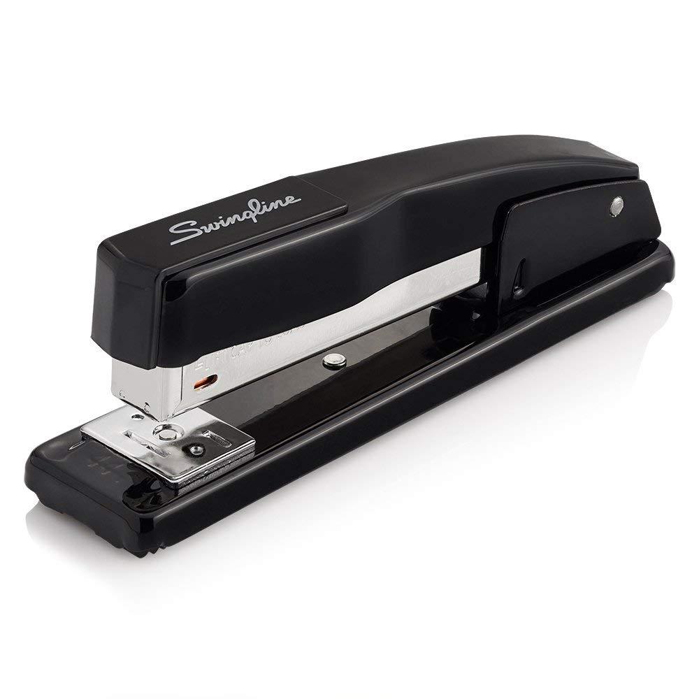 Stapler, Commercial Desk Stapler, 20 Sheet Capacity, Black (44401) by Swingline