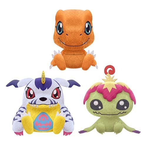 Digimon Adventure roller Innovation Cute stuffed vol.1 all three sets