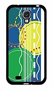 Abstract Circles and Stripes Pattern 2-Piece Dual Layer Phone Case Back Cover Samsung Galaxy S4 I9500