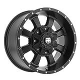 #7: Trailmaster TM210-7983SB Alloy Wheel; Size 17X9; Bolt Pattern 6 X 5.5; Max Load 2200 lbs.; Back Space: 4.75 in; Offset Negative 6mm; Finish: Satin Black;