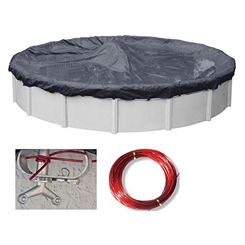 18' Round Economy Above Ground Swimming Pool Winter Cover 8 Year (Ground Economy Winter Covers)