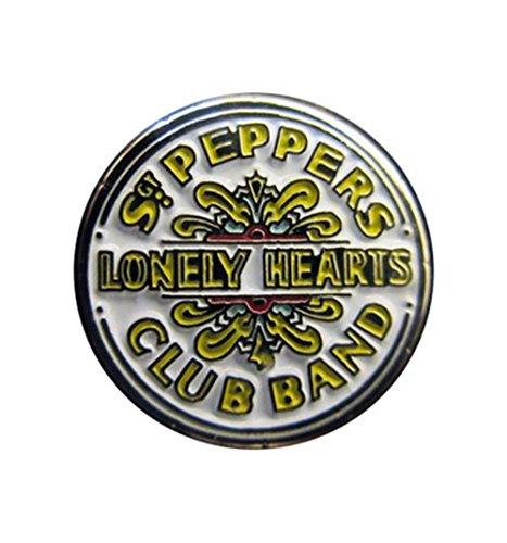 The Beatles Enamel Metal Mini Pin Badge (Sgt Pepper) -