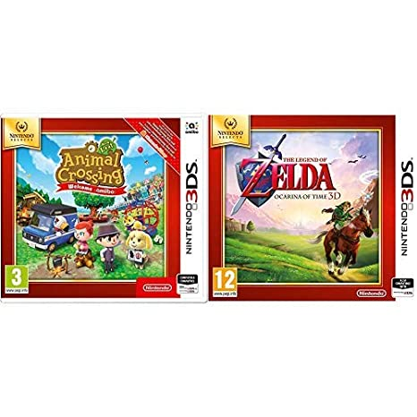 Animal Crossing New Leaf Welcome Amiibo SELECTS & The Legend Of ...