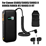 HAOXI AODELAN External Flash Battery Pack Battery Power Bank for Sony HVL-F60RM/F56AM/58AM/F60M Replace Sony FA-EB1AM & FA-EB1 (12 AA Batteries)