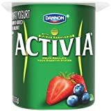 Activia Mixed Berry Probiotic Yogurt, 4 Ounce - 24 per case.