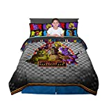 Kitchen Designers Franco Kids Bedding Comforter and Sheet Set, 5 Piece Full Size, Five Nights at Freddy's