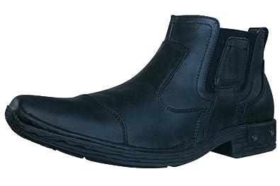 Memphis One Herren Chelsea Boots Schuhe BLACK 40: Amazon