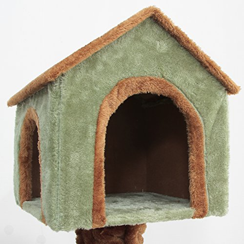IRIS Cat Tree Condo 3-Tier Treehouse