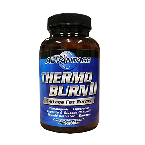 Pure Advantage Thermo-Burn II 5-Stage Fat Burner, 90 (Metabolic Advantage)