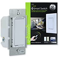 GE Enbrighten Z-Wave Plus Smart Light Switch, On/Off...