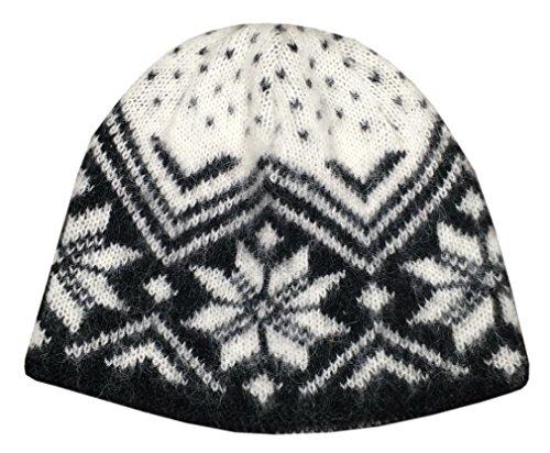 Freyja Canada Winter Beanie Cap 100% Icelandic Wool Unisex 2 Ply Knitted ()