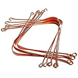 COPPER TONGUE CLEANERS | 100% COPPER | ONLY BY HEALTHNODE. (12 PC)