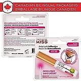 KISS Strip Eyelash Adhesive, Clear 0.176 Oz KPLGL01