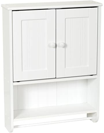 Nice White Storage Cabinets With Doors Collection