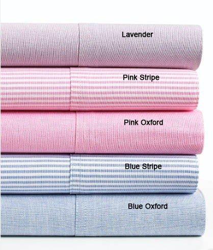 Oxford Standard Pillowcases - Lavender ()