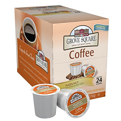 Grove Square Coffee, Hazelnut, 24 count