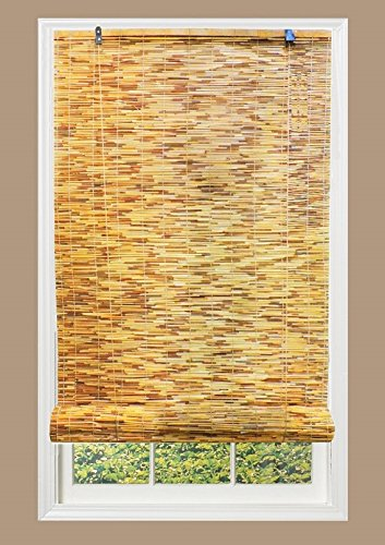 RADIANCE 0360486 Natural Woven Reed Light Filtering Roll Up Window Blind, 48-Inch Wide by 72-Inch High by RADIANCE (Image #3)