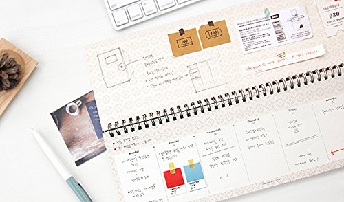 Iconic Weekly Desk Notepad