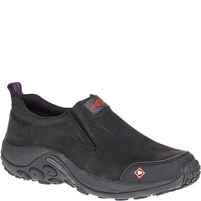 a31db331b32 Merrell Jungle Moc Work Shoe Women 6 Black