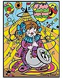 Colorvelvet M066 - Clown Sax Disegno, 37 x 28 cm