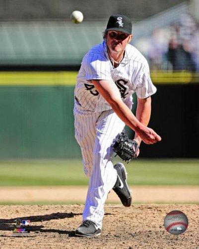 Addison Reed Chicago White Sox 2013 MLB Action Photo 8x10