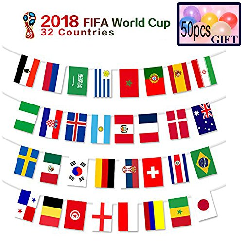 Amazon com: 2018 FIFA World Cup Flags,Russia Soccer Football Flag
