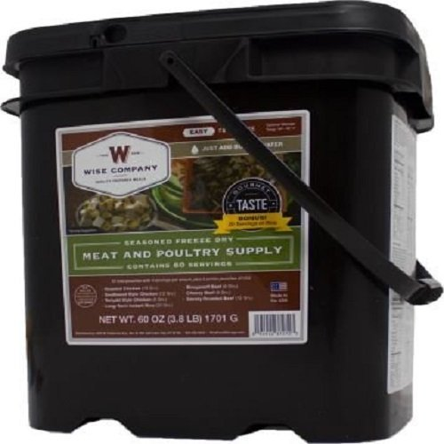 Wise-Company-60-Serving-Gourmet-Seasoned-Freeze-Dried-Meat-60-Ounce