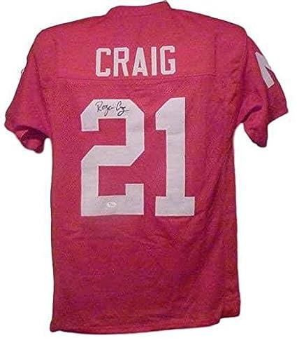 ca40b4a8e96 Roger Craig (NFL) Autographed Jersey - NEBRASKA CORNHUSKERS 10918 ...