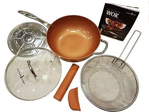 Copper Chef Pro 12 XL Wok Set 7 Pc.